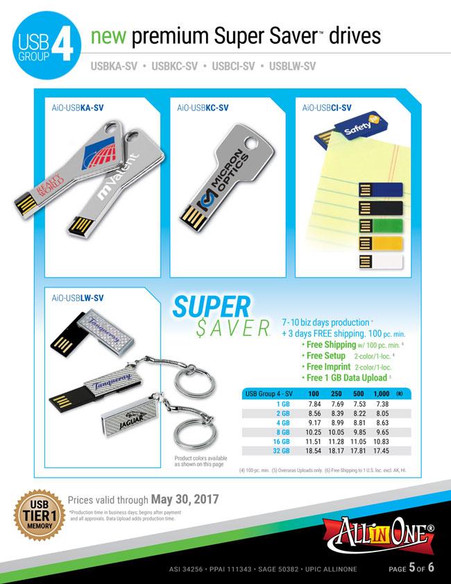 USB Pricing